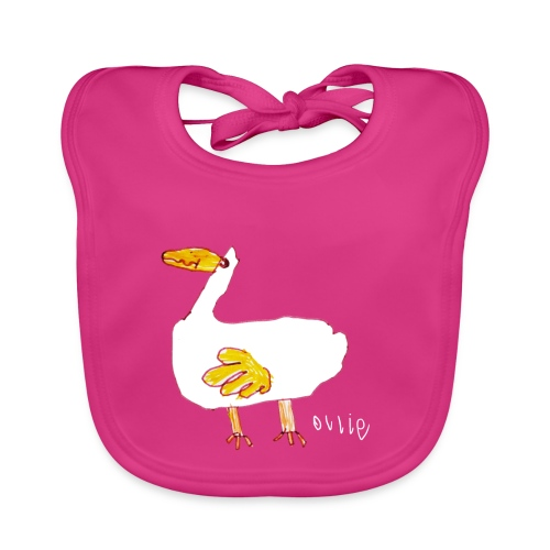 Ollie's Duck - Baby Organic Bib