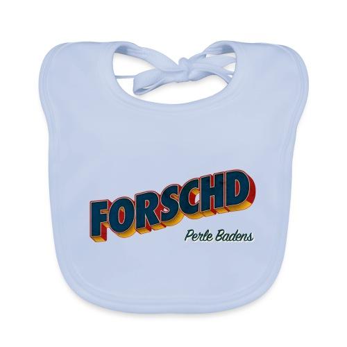 Forschd - Perle Badens - Vintage Logo ohne Bild - Baby Bio-Lätzchen