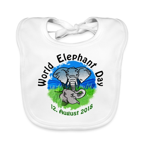 World Elephant Day 2018 - Baby Bio-Lätzchen