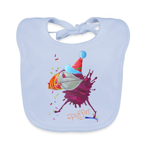 MR. PUFFIN - Baby Organic Bib