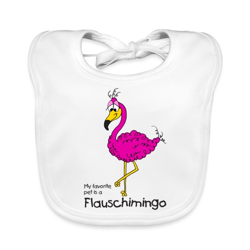 My favorite pet is a Flauschimingo - Baby Bio-Lätzchen