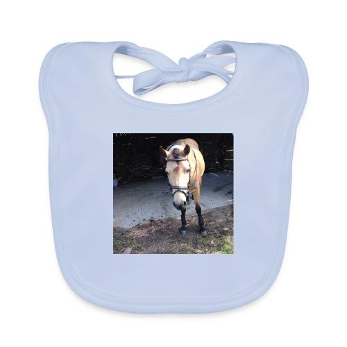 Häst - Ekologisk babyhaklapp