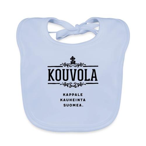 Kouvola - Kappale kauheinta Suomea. - Vauvan luomuruokalappu