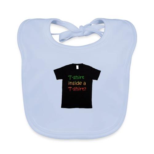 mars-one-drawing-tshirt-black - Baby økologisk hagesmæk