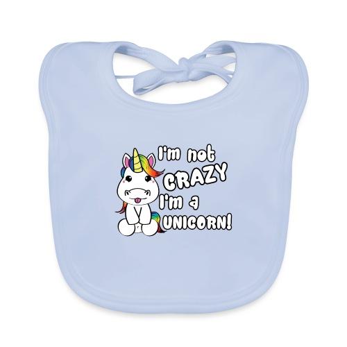 unicorn - Bio-slabbetje voor baby's