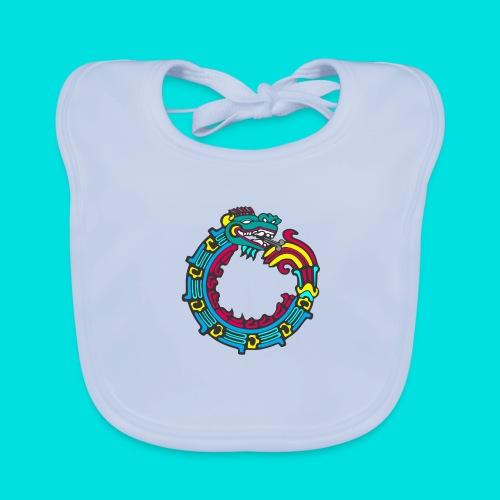 aztek - Babero de algodón orgánico para bebés