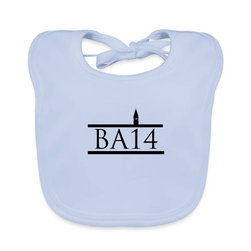 BA14 White - Organic Baby Bibs