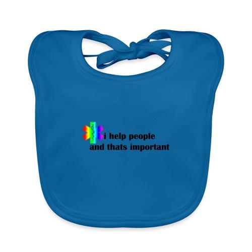i help people - Bio-slabbetje voor baby's