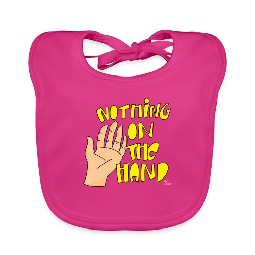 Nothing on the hand - Bio-slabbetje voor baby's
