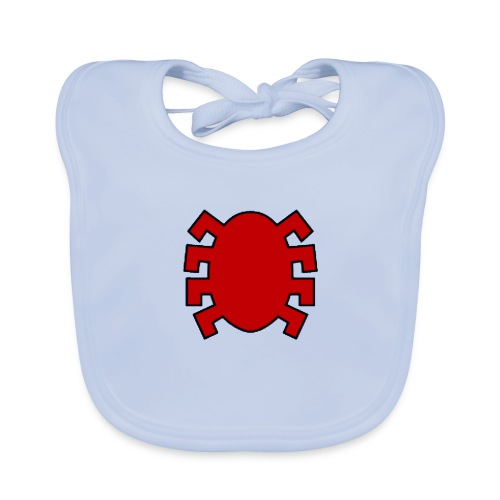 spiderman back - Baby Organic Bib