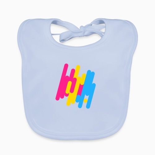 Abstract Panic Design! - Baby Organic Bib