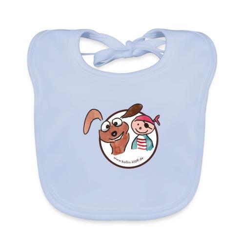 Kollin Kläff - Hund und Pirat für T-Shirt und co - Baby Bio-Lätzchen