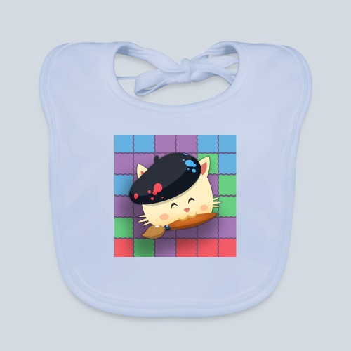Hungry Cat Picross - Bavoir bio Bébé