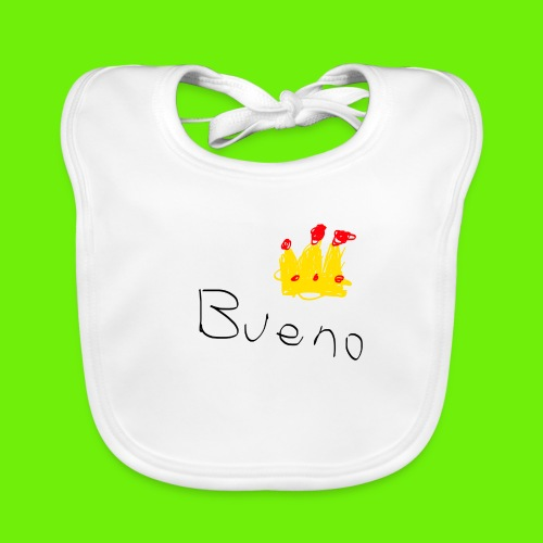 King Bueno Classic Merch - Baby Organic Bib