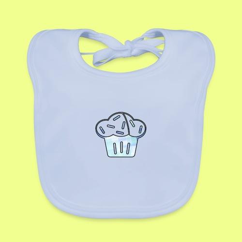 Pastel - Babero de algodón orgánico para bebés