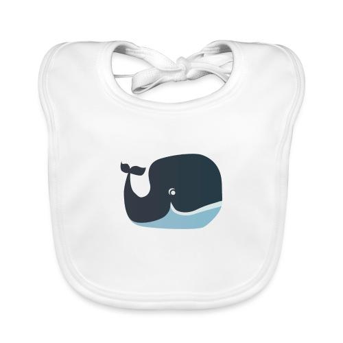 Walvis - Bio-slabbetje voor baby's