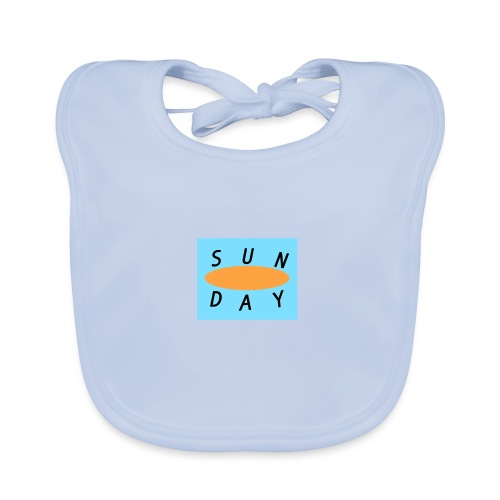 Sunday - Bavoir bio Bébé