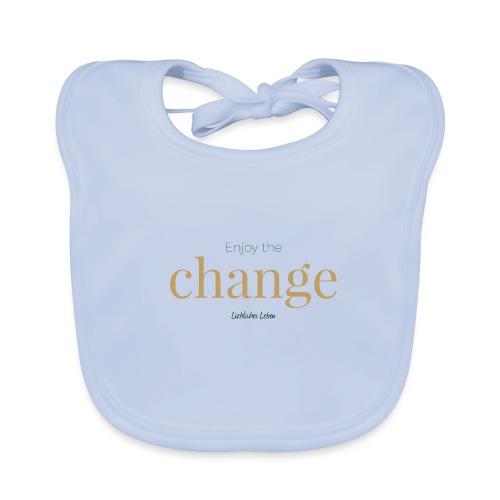 Liebliche Kollektion: Enjoy the Change - Baby Bio-Lätzchen