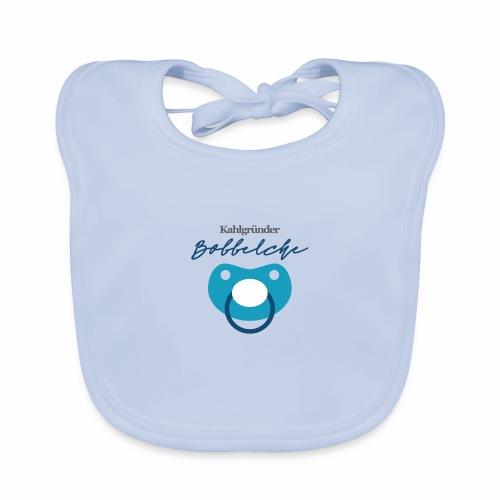 Kahlgruender Bobbelche - Jungs Blau - Baby Bio-Lätzchen