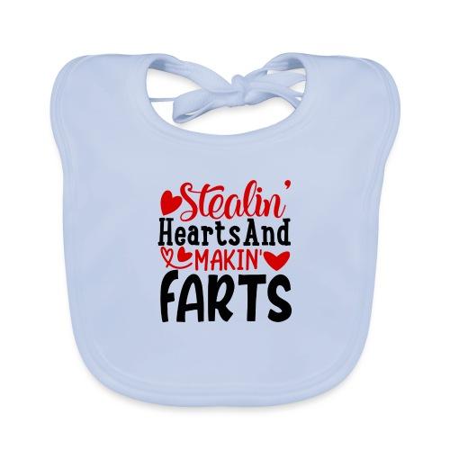 Stealin Hearts And Makin Farts - Bio-slabbetje voor baby's