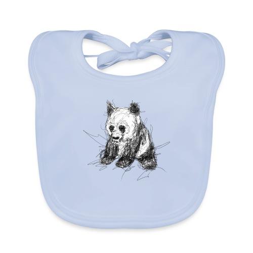 Scribblepanda - Baby Organic Bib