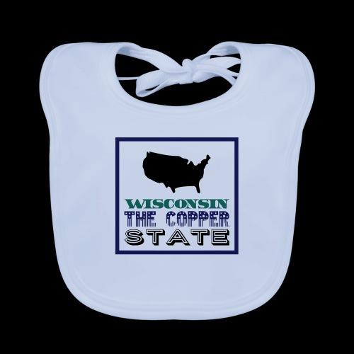 WISCONSIN THE COPPER STAT - Organic Baby Bibs