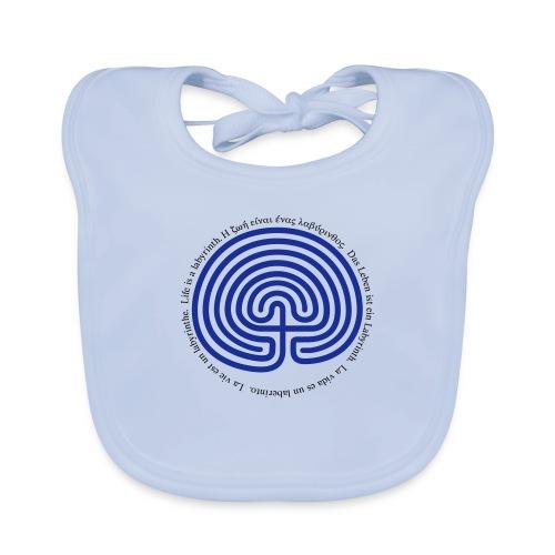Labyrinth tessera - Baby Bio-Lätzchen