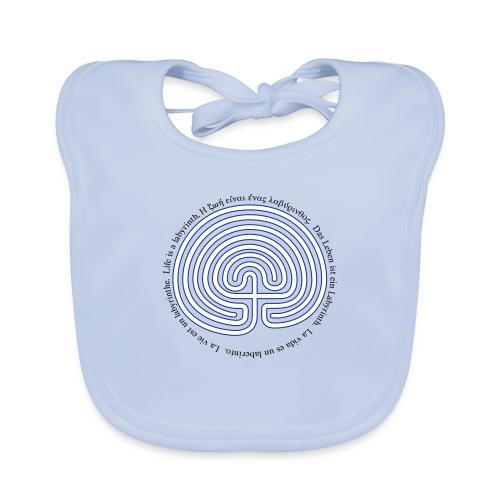 Labyrinth exi - Baby Bio-Lätzchen