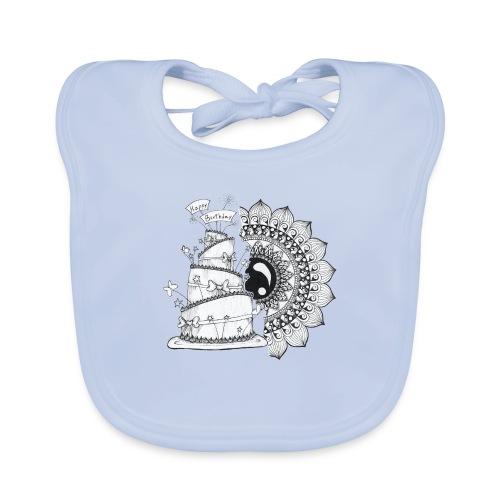 TortaMandala - Bavaglino ecologico per neonato