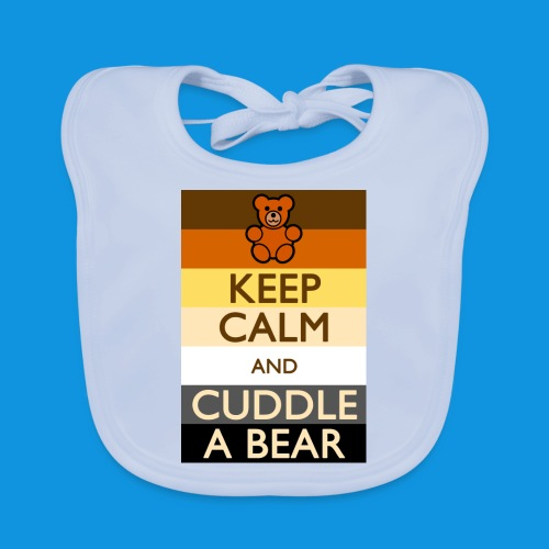 Calm Bear pocket tank - Baby Organic Bib