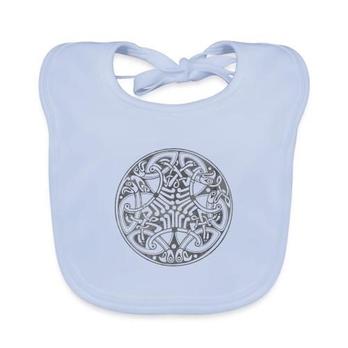 Old Celtic Birds Ornament Mandala 1 - Baby Bio-Lätzchen