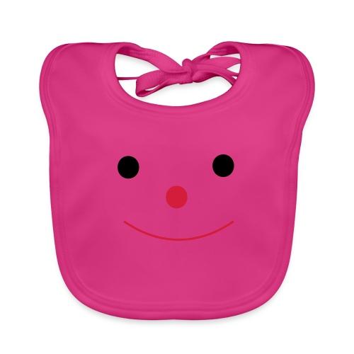 Happy Smileday smiley face - Baby Organic Bib