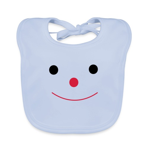 Happy Smileday smiley face - Organic Baby Bibs