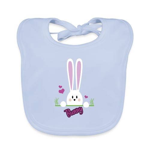 bunny girl - Baby Bio-Lätzchen