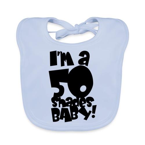 50 shades - Organic Baby Bibs