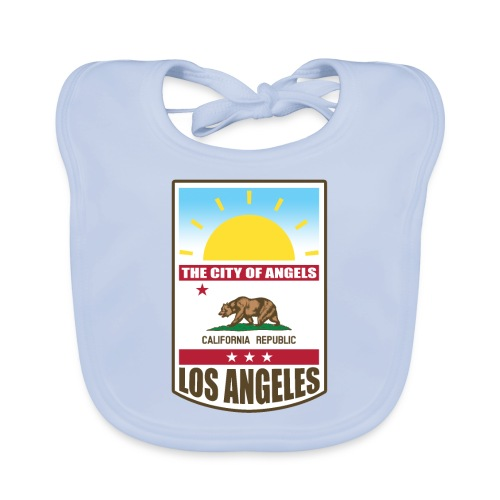 Los Angeles - California Republic - Organic Baby Bibs