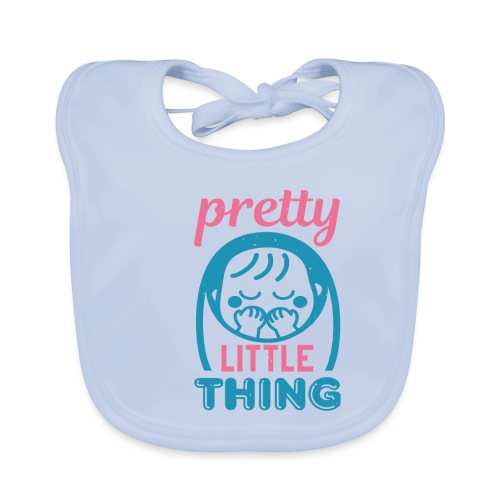 Pretty little thing - Baby Bio-Lätzchen
