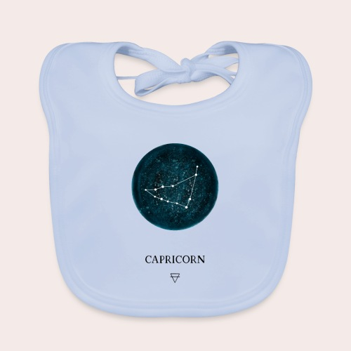 Sternzeichen Astro Capricorn - Baby Bio-Lätzchen