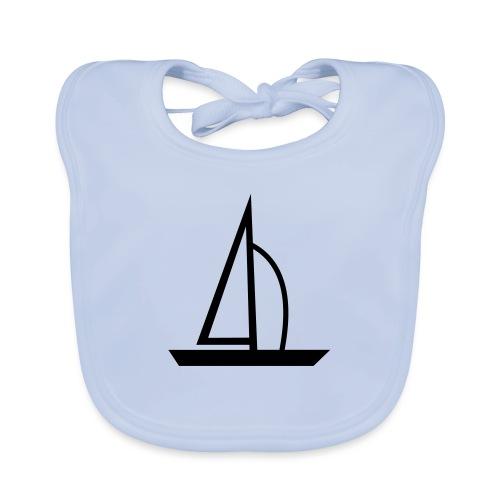 Segelboot - Baby Bio-Lätzchen