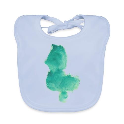 grünes Küken - Baby Bio-Lätzchen