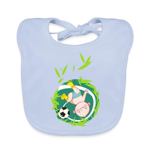 Umstandsmode T-Shirt mit Motiv / Fussball - Baby Bio-Lätzchen