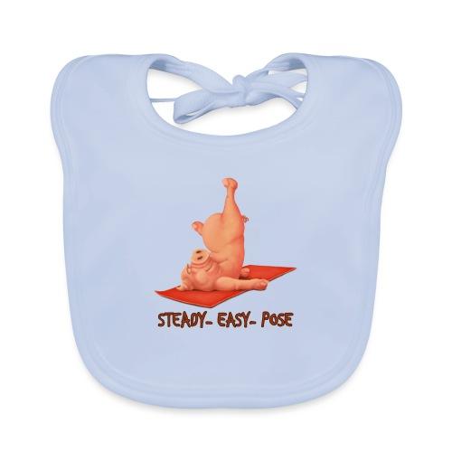 Schweindi-SteadyEasyPose - Baby Bio-Lätzchen