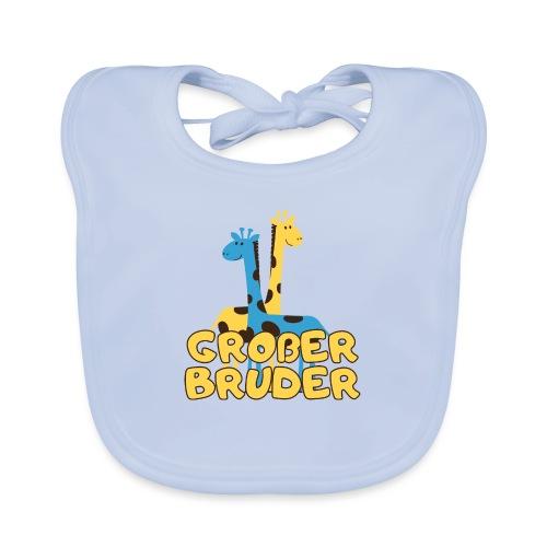 großer Bruder Baby Babyparty Shirt - Baby Bio-Lätzchen