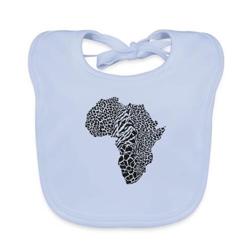 Africa in a animal camouflage - Baby Bio-Lätzchen