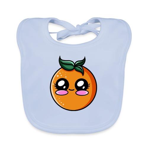 Orange Kawaii - Bavoir bio Bébé
