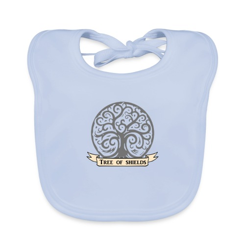 TOS grey tiny 3in png - Baby Organic Bib