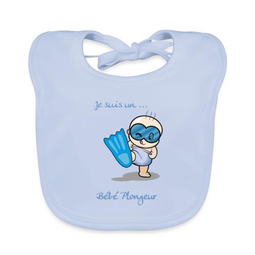 je suis un bebe plongeur - Bavoir bio Bébé