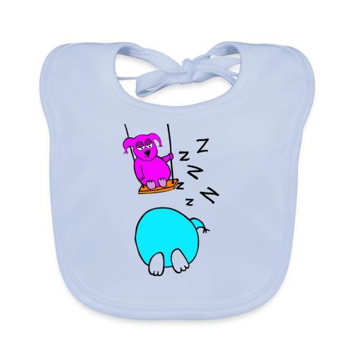 Pöllyskäinen - Vauvan ruokalappu