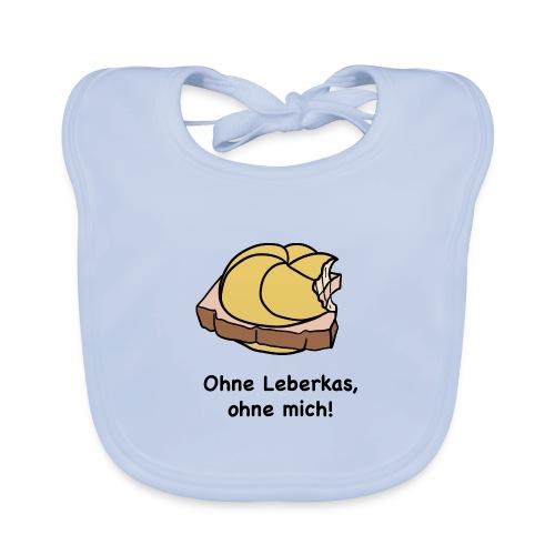 Ohne Leberkas - Baby Bio-Lätzchen