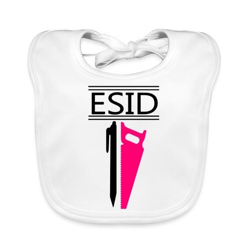 ESID Zwart-roze - Bio-slabbetje voor baby's